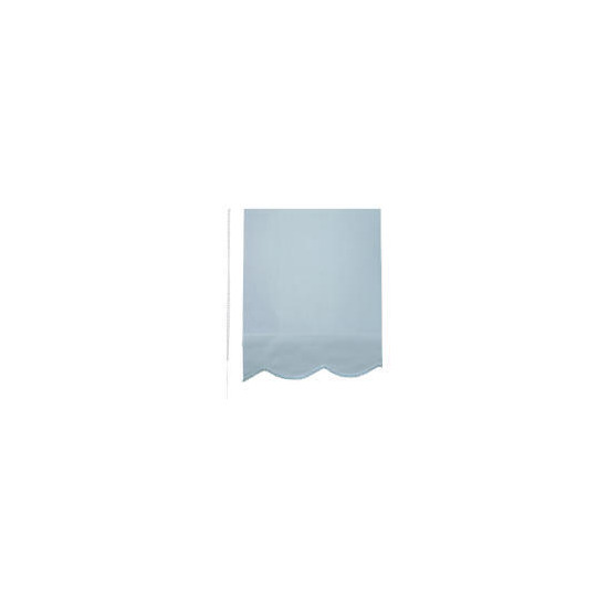 Scalloped Edge Roller Blind 90cm Blue