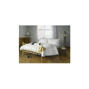 Photo of Elspeth Gibson Lavender Leaves Duvet Set King, White Bed Linen