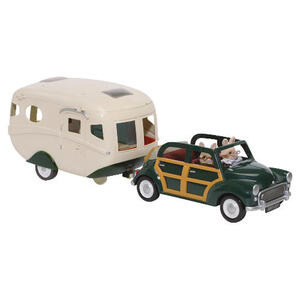 Photo of Sylvanian Familes Car & Caravan Set Toy