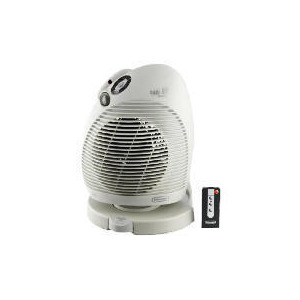Photo of DeLonghi HMH550-3R Electronic Climate Control Fan Heater With Remote Control Electric Heating