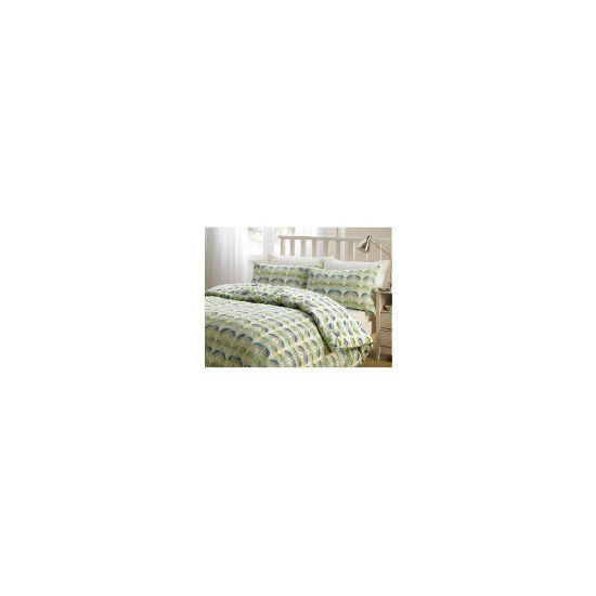 Tesco Retro Print Duvet Set King, Multi