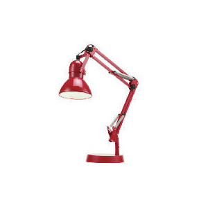 Photo of Tesco Retro Desk Lamp Red Lighting