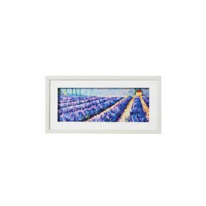 Photo of Lavender Field Framed Print 60X30CM Home Miscellaneou
