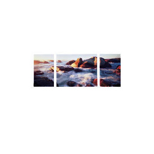 Photo of Sea Breeze Canvas Set Of 3 100X40CM Home Miscellaneou