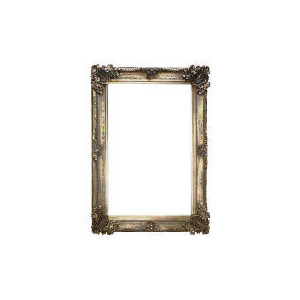 Photo of Abbey Mirror Silver Effect 92X66CM Home Miscellaneou