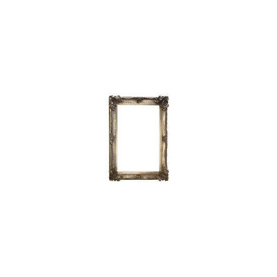 Abbey Mirror Silver Effect 92x66cm