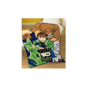 Photo of Ben 10 Alien Force Fleece 125 X 150CM Bed Linen