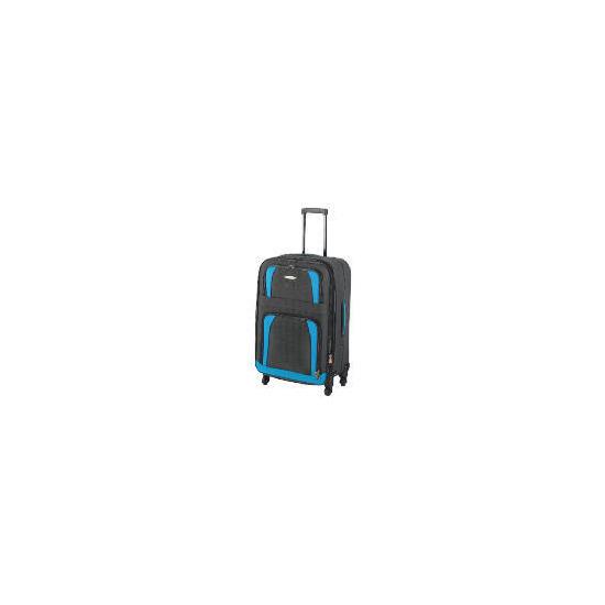 Constellation 4 wheel Charcoal Trolley Case Medium
