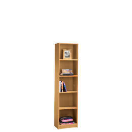 5 shelf 40cm Bookcase, Oak effect Reviews