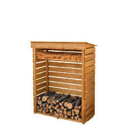 Wooden Log Store Small Reviews