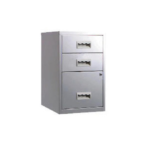 Photo of Silver Combi 3 Drawer Filing Cabinet Toy