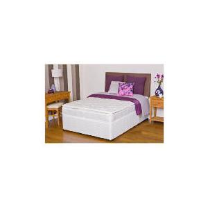 Photo of Silentnight Miracoil 3-Zone Supreme Minnesota Super King Non Storage Divan Set Bedding