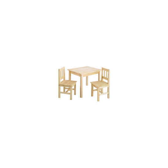Loxley Pine Play Table And 2 Chairs