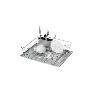 Photo of Stainless Steel Dish Drainer Kitchen Accessory