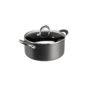 Photo of Tesco Go Cook Hard Anodised Stockpot 24CM Cookware