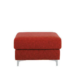 Westport Foot Stool, Red Reviews