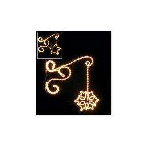 Photo of Light Up Star Wall Bracket Set Of 2 Christmas