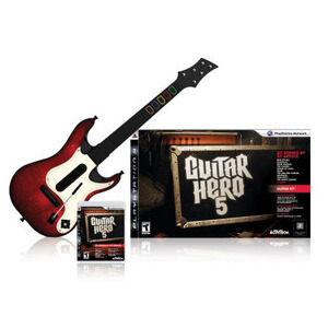 Photo of Guitar Hero 5 - Guitar Bundle (PlayStation 3) Video Game