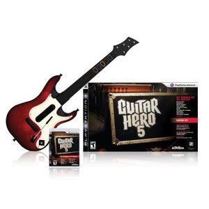 Photo of Guitar Hero 5 - Guitar Bundle (PlayStation 3) Video Game