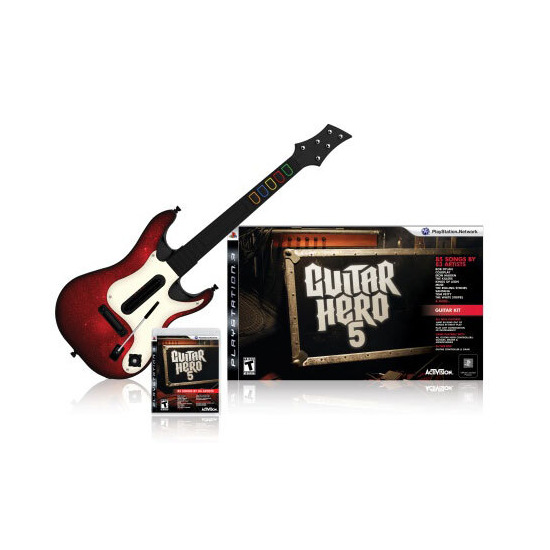 Guitar Hero 5 - Guitar Bundle (PlayStation 3)