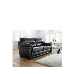 Avignon Large Leather Sofa, Black Reviews