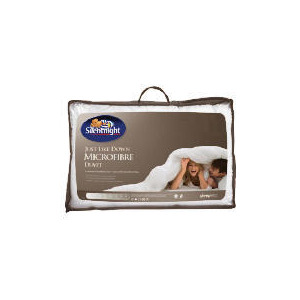 Photo of Silentnight Microfibre 10.5 Tog Duvet, Single Bedding