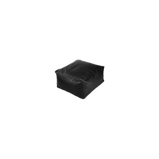Bean Slab Faux Leather Chocolate 60x60