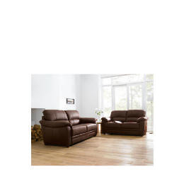 Valencia Large Leather Sofa, Chocolate Reviews