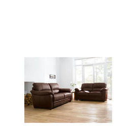 Valencia Large Leather Sofa, Chocolate Reviews