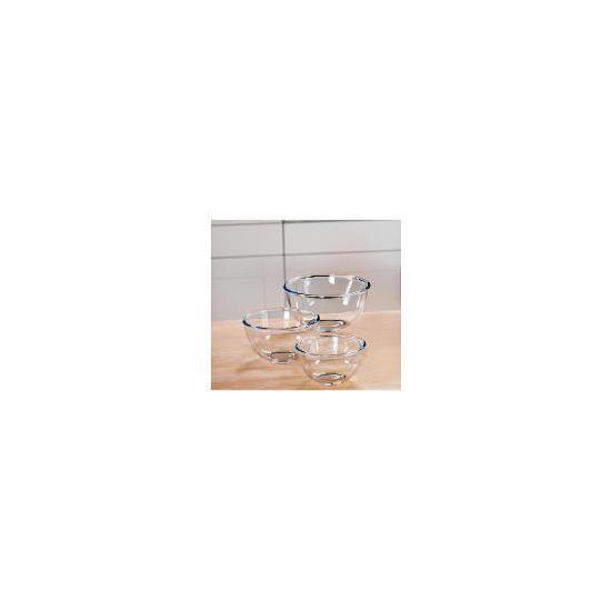 Pyrex 3 Piece Bowl Set