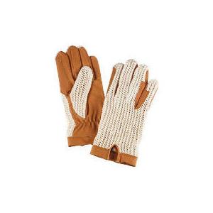 Photo of Harry Hall Crotchet Backed Gloves Medium Mixed Sports and Health Equipment