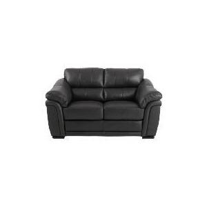 Photo of Avignon Leather Sofa, Black Furniture