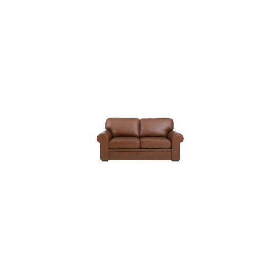 York Leather Sofabed, Cognac