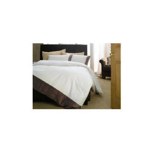 Photo of Finest Fairfax Cocoa Double Duvet Bed Linen