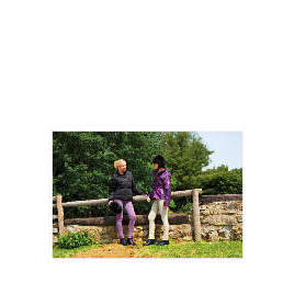 Tesco Ladies 3 in 1 Waterproof Riding Jacket size 10 Purple / lt purple trim Reviews