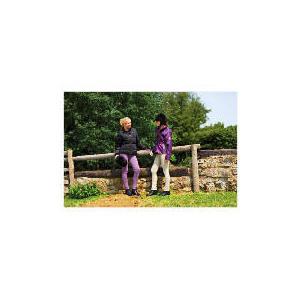Photo of Tesco Ladies 3 In 1 Waterproof Riding Jacket Size 10 Purple / LT Purple Trim Sports and Health Equipment