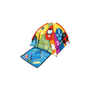 Photo of Crazy Bones Tent With Battle Mat Toy