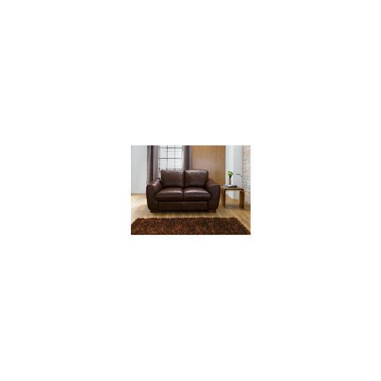 Milano Leather Sofa, Chocolate