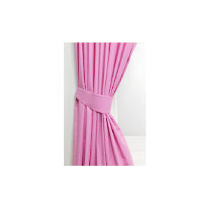 Photo of Tesco Kids Pink Curtains Curtain
