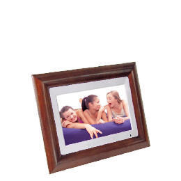 "Luminox 10"" Hardwood Digital Photo Frame with Touch Panel Controls Reviews"