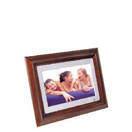 """Luminox 10"""" Hardwood Digital Photo Frame with Touch Panel Controls Reviews"""