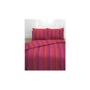 Photo of Tesco Dotty Print Duvet Set Kingsize, Natural & Red Bed Linen