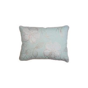Photo of Tesco Libre Embroidered Cushion, Aqua Cushions and Throw