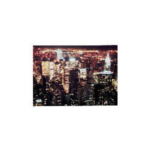 Photo of New York Nightlight Printed Canvas 50X70CM Home Miscellaneou