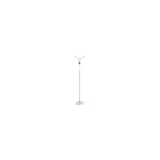 Tesco Chrome Hydra Floor Lamp