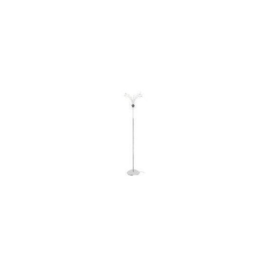Tesco Chrome Hydra Floor Lamp