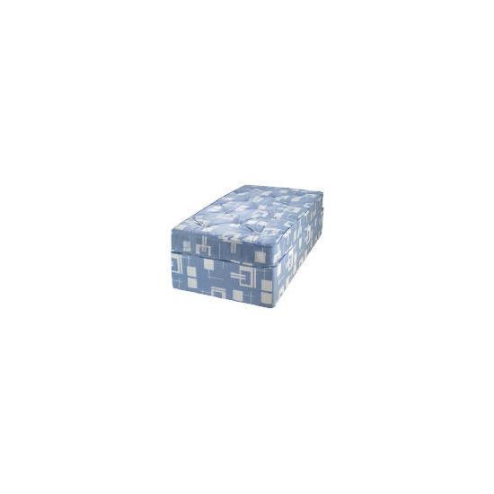 Tesco Value Single Tufted Trizone Non Storage Divan Set