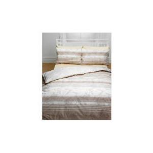 Photo of Tesco Grace Print Duvet Set Kingsize, Natural Bed Linen
