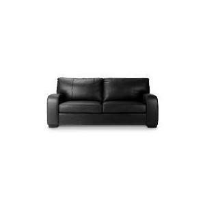 Photo of Memphis Large Leather Sofa, Black Furniture