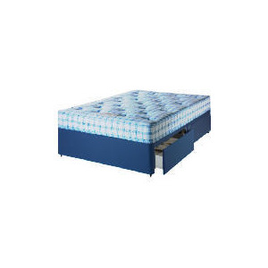 Photo of Camborne 2 Drawer King Size Divan Set With Ortho Mattress Bedding